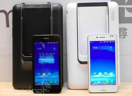 """Chiếc smartphone của Padfone sẽ trở thành """"bộ não"""" khi kết nối với màn hình máy tính bảng"""