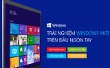 Microsoft VN hỗ trợ nguời dùng trải nghiệm Windows 8.1
