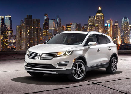 Ra mắt chiếc crossover Lincoln MKC 2015
