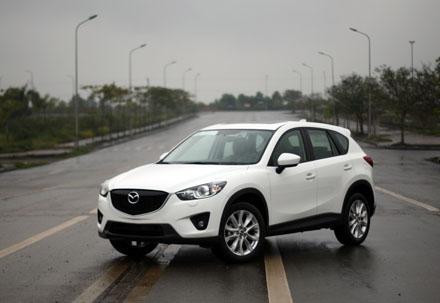 VinaMazda lắp ráp xe Mazda CX5