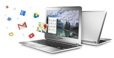 Laptop chạy Chrome OS của Google đã có bước tăng trưởng mạnh trong năm 2013