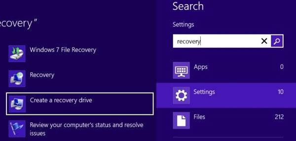 Khắc phục tính năng Refresh không làm việc trên Windows 8
