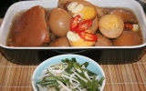 Thịt kho nước dừa bằng nồi áp suất