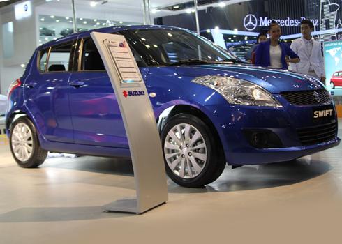 Suzuki Swift lắp ráp trong nước với tỷ lệ nội địa hóa chưa tới 10%.