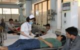 Bệnh viện Đa khoa tỉnh: Khám cấp cứu gần 500 bệnh nhân