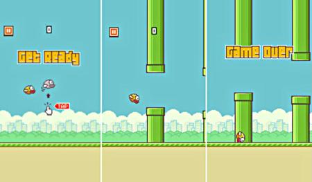 Flappy Bird, trò chơi di động đang gây sốt trong cộng đồng người dùng smartphone.