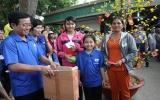 Bếp ăn từ thiện Bệnh viện Đa khoa tỉnh:  Tổ chức chương trình vui xuân cho bệnh nhân nghèo