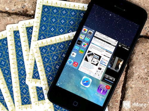 Tắt đồng thời ba ứng dụng trên iOS 7