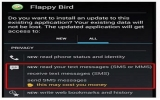 Nhiều phần mềm giả Flappy Bird bị chèn mã độc gây mất tiền
