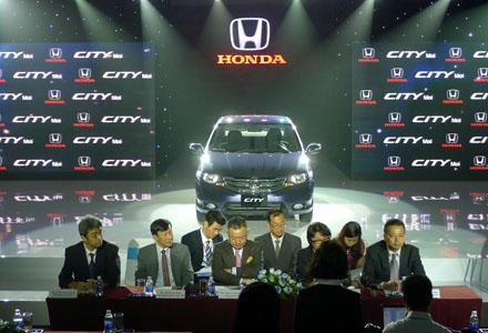 Xe Honda City tại Việt Nam có giá từ 540 triệu đồng