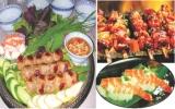 Phong phú, đa dạng các món ăn tại Lễ hội ẩm thực quốc tế