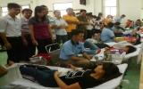 Phú Giáo: Hơn 300 người hiến máu tình nguyện đợt 1-2014