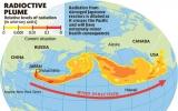 Phóng xạ Fukushima đến bờ biển Bắc Mỹ