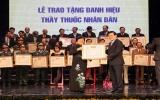 Chủ tịch nước trao tặng danh hiệu Thầy thuốc Nhân dân