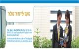 Công ty Bảo Việt Nhân Thọ Bình Dương thông báo tuyển dụng