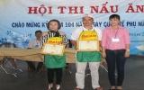 Công đoàn KCN Việt Nam - Singapore tổ chức Hội thi nấu ăn nhân ngày Quốc tế phụ nữ