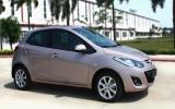 Mazda2 S có màu hồng phấn mới