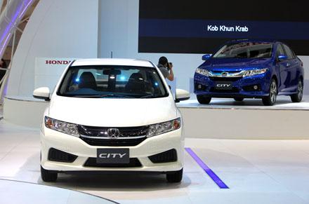 Honda City 2014 chính thức có mặt tại Đông Nam Á
