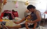 Nắng nóng, bệnh tiêu chảy ở trẻ em tăng