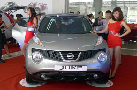 Xe Nissan Juke với thiết kế lạ mắt