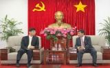 Lãnh đạo tỉnh tiếp Đoàn Văn phòng Kinh tế - Văn hóa Đài Bắc