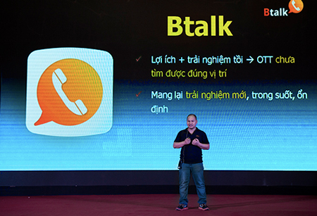Ông Nguyễn Tử Hoàng, Phó Chủ tịch phụ trách phần mềm Bkav lạc quan trong cuộc chiến OTT sắp tới.