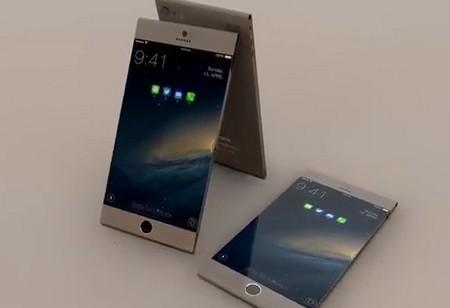 iPhone 6 Pro với màn hình rộng ra tận các viền và thiết kế bo tròn 2 cạnh trên dưới
