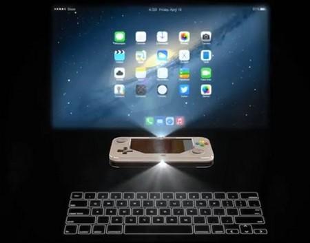 Điều khiển iController với đèn chiếu nội dung và bàn phím ảo