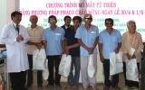 Bệnh viện Đa khoa Sài Gòn Bình Dương mổ mắt miễn phí cho 21 người