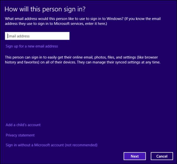 Tất cả mọi thứ cần biết về đăng nhập vào Windows 8.1