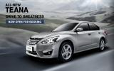 Nissan Teana 2014 tới Đông Nam Á