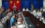 """Chủ tịch UBND tỉnh Lê Thanh Cung: """"Bình Dương cam kết và chuẩn bị các phương án cần thiết để bảo vệ các doanh nghiệp, các nhà đầu tư"""""""