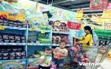 Siêu thị giảm giá mạnh sản phẩm dành cho trẻ trước dịp 1-6