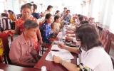 Hội Chữ thạp đỏ tỉnh: Khám, cấp thuốc miễn phí và tặng quà cho người nghèo
