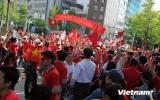 Người Việt ở Nhật Bản tiếp tục tuần hành phản đối Trung Quốc