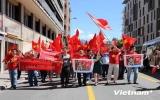 Tuần hành tại Pháp yêu cầu Trung Quốc rút giàn khoan