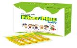 Chất xơ thực phẩm Fiber plus baby dùng cho trẻ táo bón, hấp thu dinh dưỡng kém: Hiệu quả ngay với ống đầu tiên