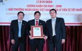 HDBank nhận giải ngân hàng Việt Nam quản lý tiền tệ tốt nhất