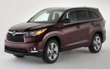 Toyota triệu hồi xe Highlander trên toàn thế giới