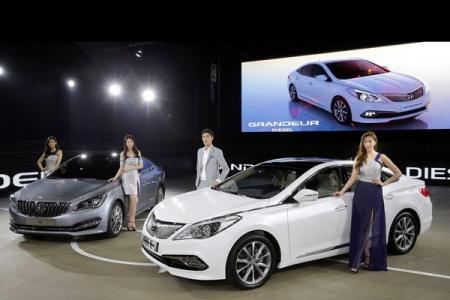 Triển lãm ô tô Busan 2014 diễn ra từ ngày 29/5 đến 8/6.