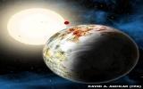 Phát hiện hành tinh giống trái đất nhưng to gấp 17 lần