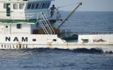Tàu Trung Quốc manh động hơn, đâm ngang tàu Kiểm ngư Việt Nam