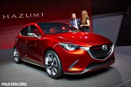 Mazda Hazumi - mẫu xe được cho là nền tảng của Mazda2 thế hệ mới