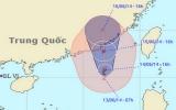 Cơn bão đầu tiên trên biển Đông, cách Hong Kong khoảng 290km