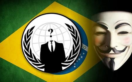 Các hành động của hacker là nhằm phản đối sự tốn kém khi tổ chức World Cup của nước chủ nhà Brazil