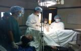 Phẫu thuật tán sỏi niệu quản bằng laser:  Phương pháp điều trị hiệu quả cao