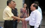Chủ tịch UBND tỉnh Lê Thanh Cung thăm và làm việc tại Công ty TNHH Mega Step Electronics Việt Nam