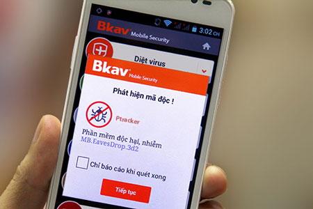 Bkav cập nhật phần mềm chống nghe lén trên điện thoại