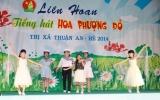 """Sôi nổi Liên hoan """"Tiếng hát Hoa phượng đỏ"""" thị xã Thuận An năm 2014"""