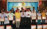 Công đoàn các KCN Bến Cát:  Tuyên dương 105 công nhân lao động tiêu biểu